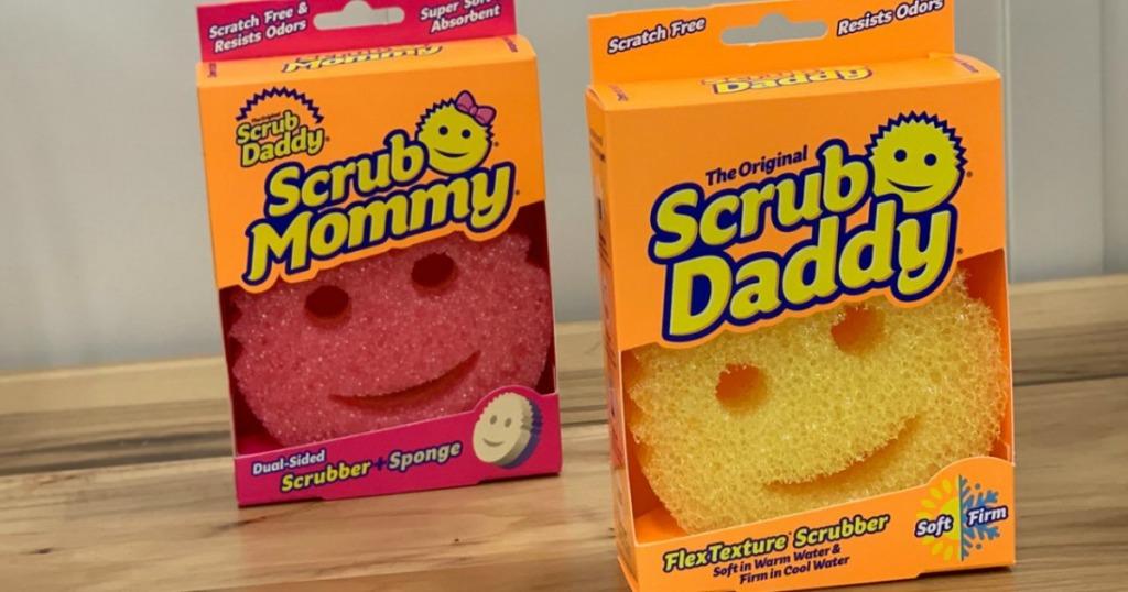 Scrub Daddy & Scrub Mommy