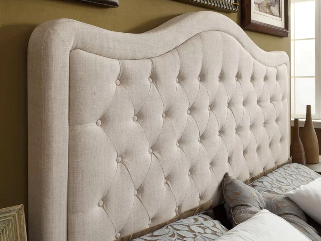 finest selection cedb7 59fb0 Up to 77% Off Upholstered Headboards + Free Delivery