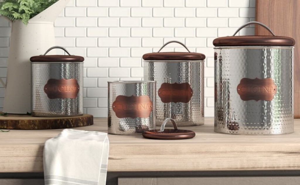 Wayfair kitchen canisters