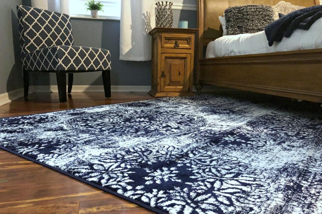 Wayfair rug from Erica