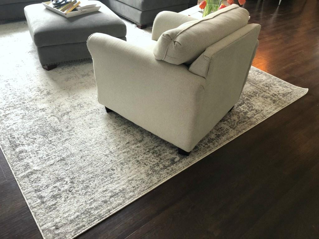 Wayfair rug from Michelle