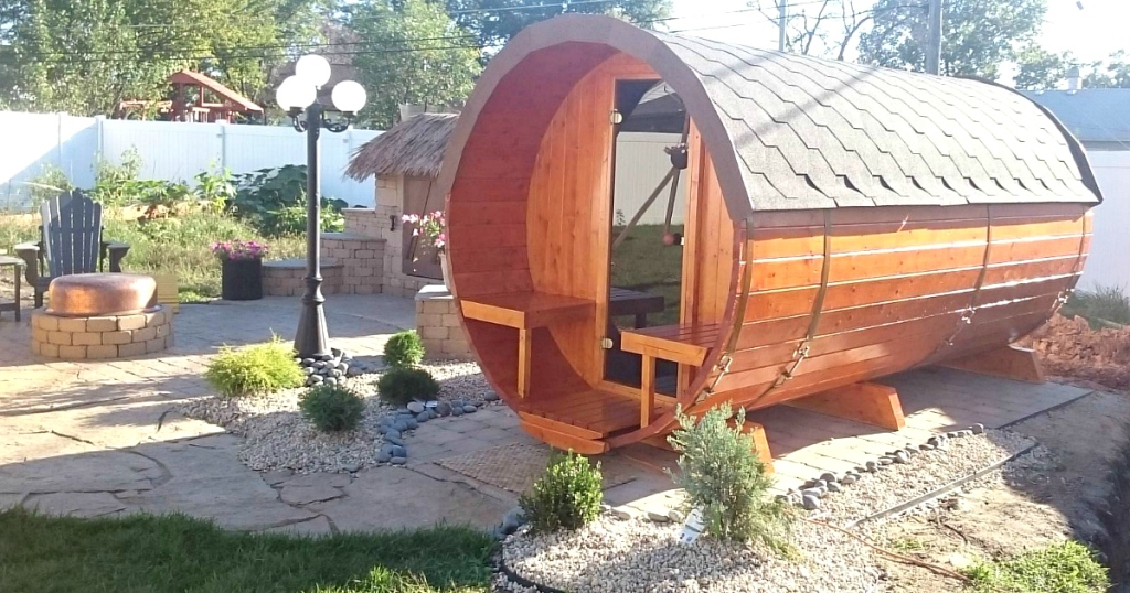 Allgood Outdoor Barrel Sauna