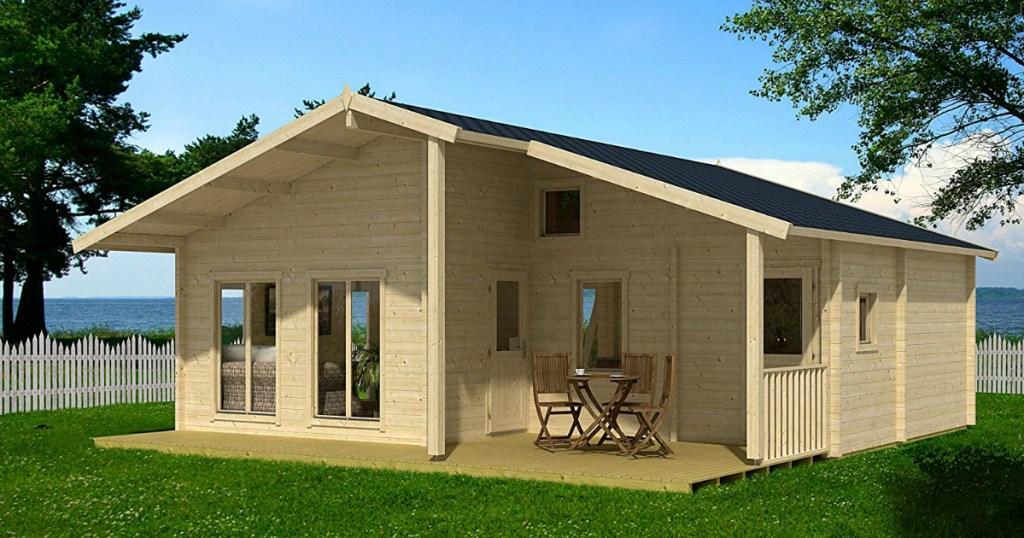 Allwood Avalon Cabin Kit 540 sq. ft. + Loft