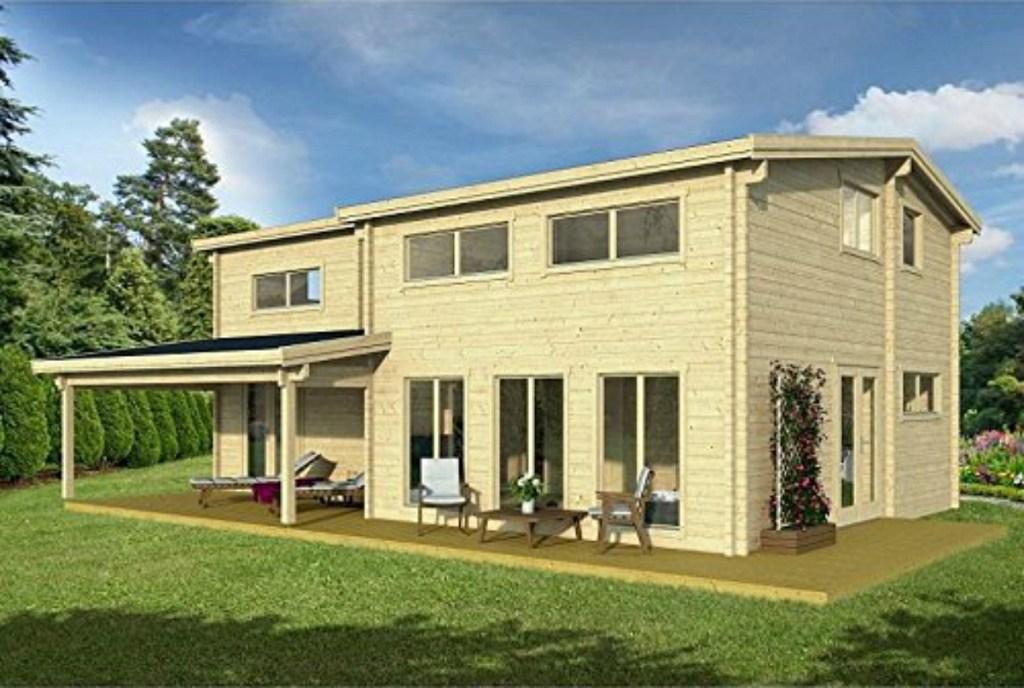 Allwood Eagle Vista 1336 sq. ft. Cabin Kit