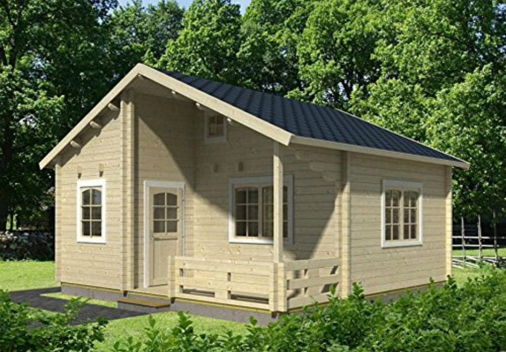Allwood Ranger Cabin Kit 259 sq. ft. + 168 sq. ft. Loft