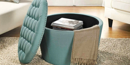 BIG Savings on Trendy Storage Ottomans from Walmart.com