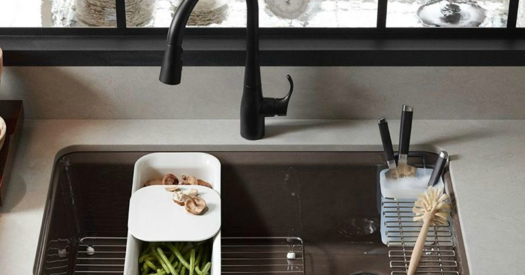 KOHLER Cast Iron Kitchen Sink