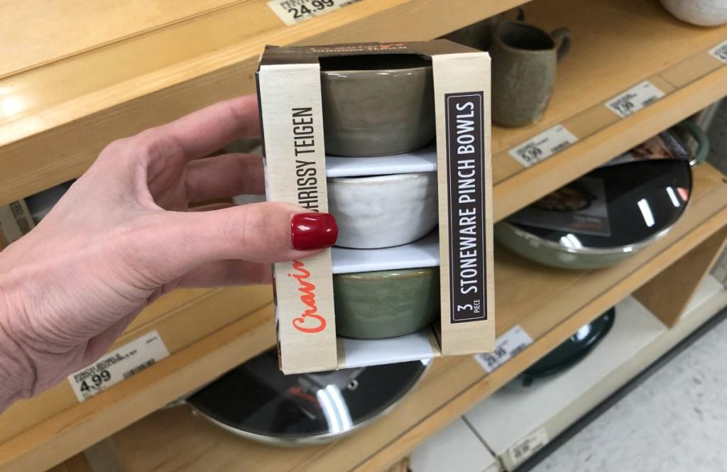 "Cravings by Chrissy Teigen 3pk 3"" Pinch Bowls"