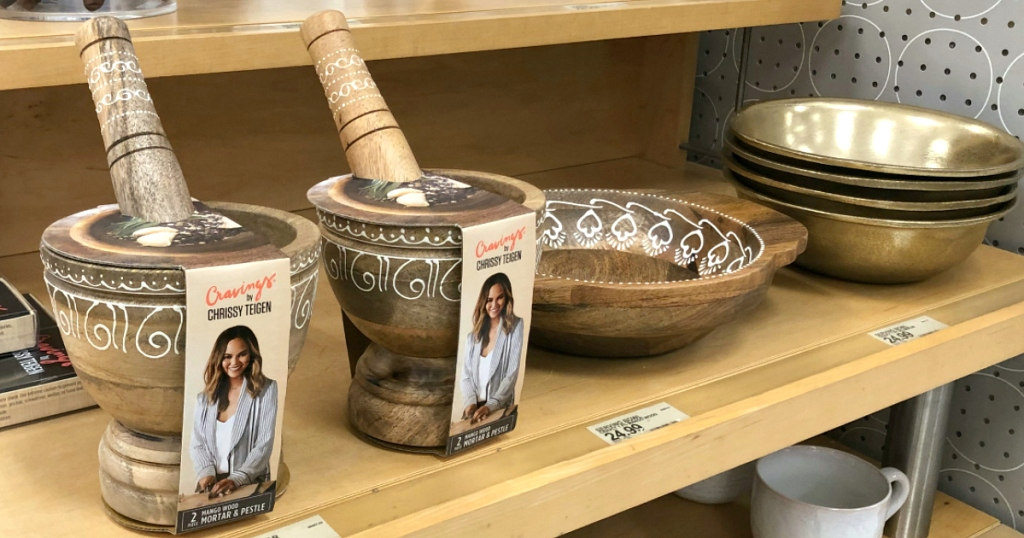 Cravings by Chrissy Teigen collection at Target