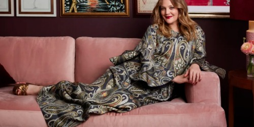 Drew Barrymore's Velvet Sofa is $800 LESS Than a Similar West Elm Sofa