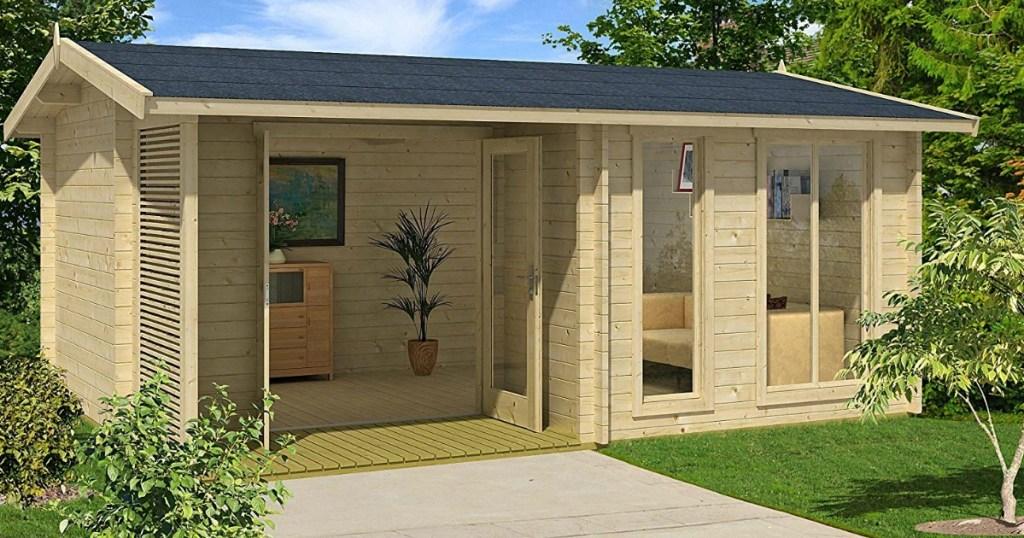 Garden house kit on Amazon