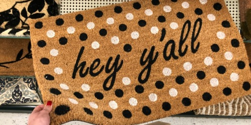 How Fun Are These Doormats at Hobby Lobby?! Get One for 40% Off…