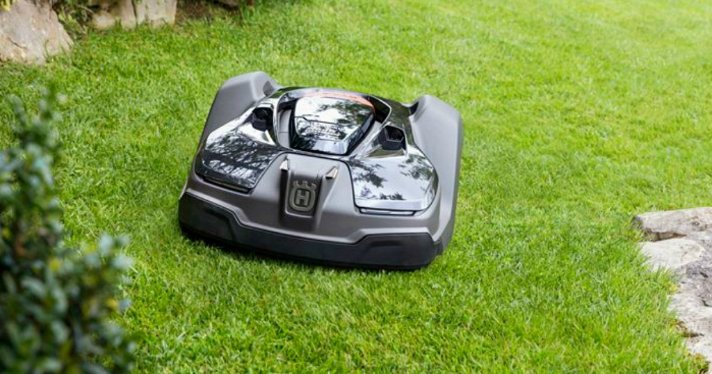 This Robotic Lawn Mower Will Cut Your Grass for You