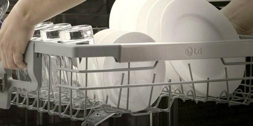 Up to 40% Off Dishwashers at Lowe's (LG, Frigidaire, KitchenAid & More)