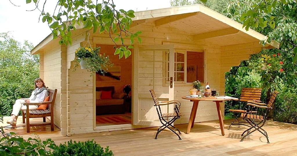 Lillevilla Escape 113 sq. ft. Allwood Kit Cabin on Amazon