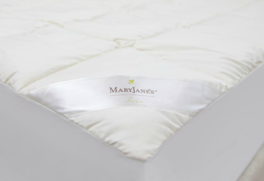 Mary Jane's Home 300 Thread Count Organic Cotton Blend Mattress Pad