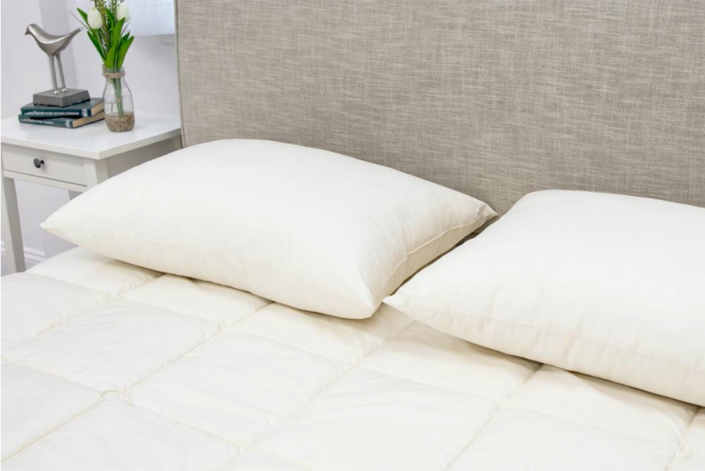 MaryJane's Home 300 Thread Count Organic Cotton Blend Pillow