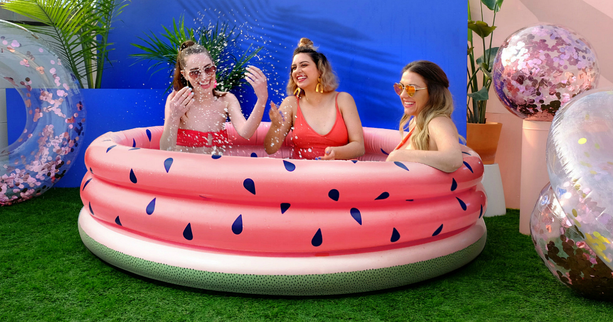 Target is Selling Designer Inflatable Pools for Only $39.99