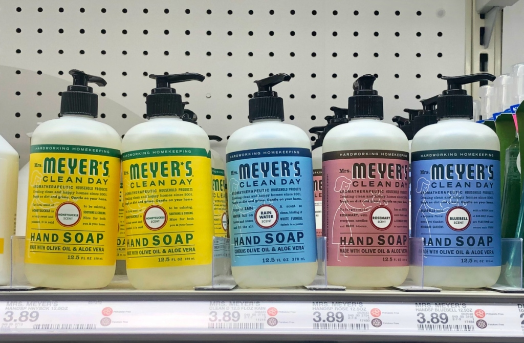 Mrs. Meyer's Hand Soaps at Target