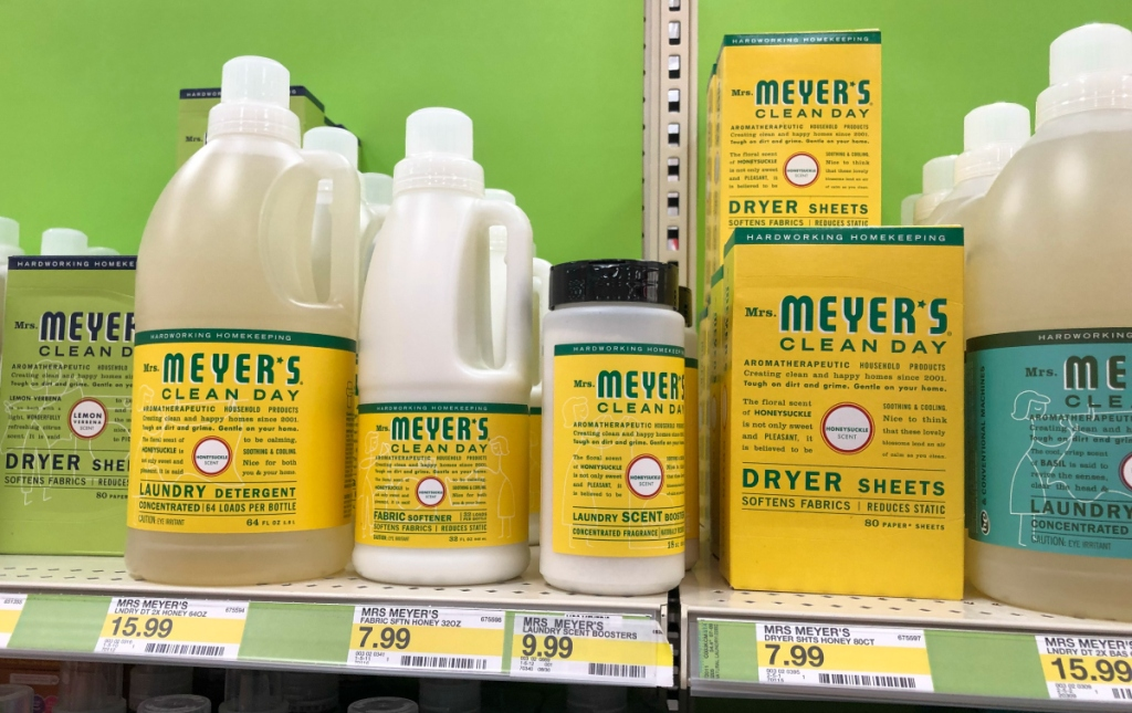 Mrs. Meyer's Laundry products