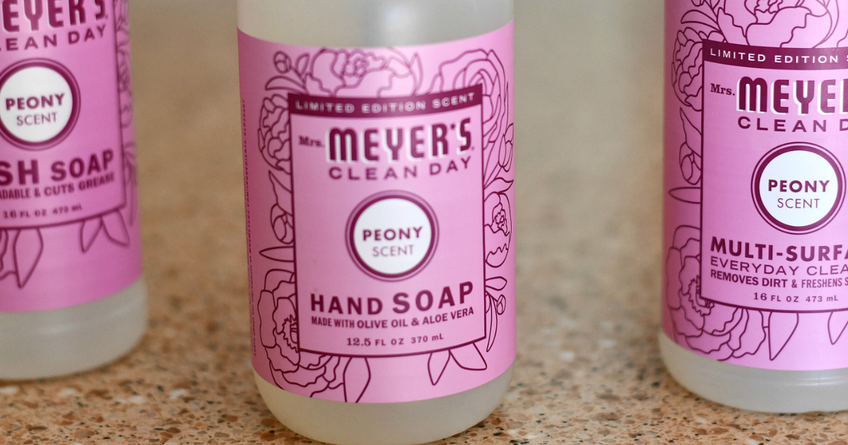photograph about Mrs Meyers Printable Coupon titled 5 Simplest-Marketing Mrs. Meyers Scents How in direction of Help you save