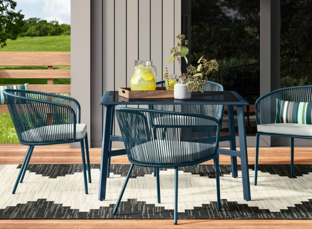 Project 62 Fisher 4pk Patio Dining Chair