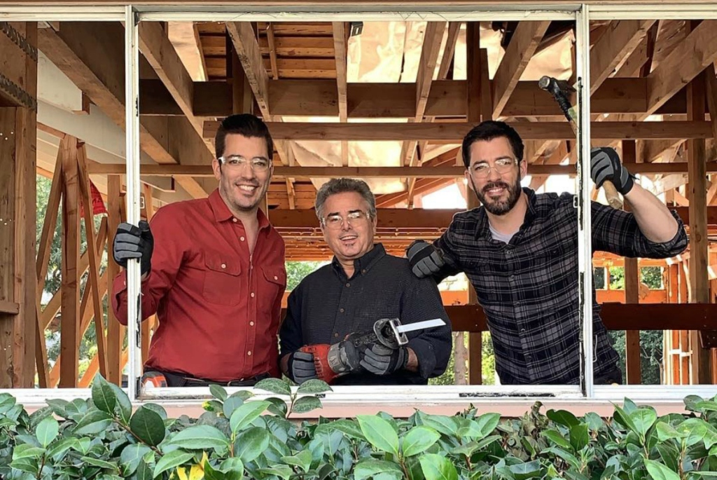 Property Brothers working on Brady House