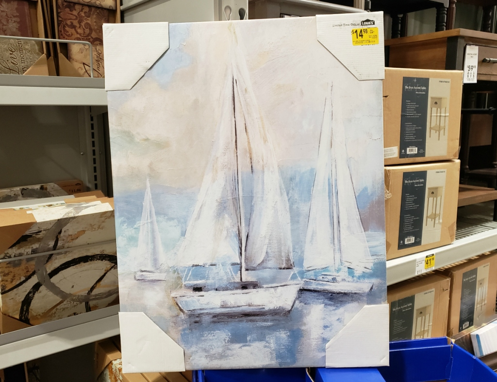 Sailboats Canvas Art
