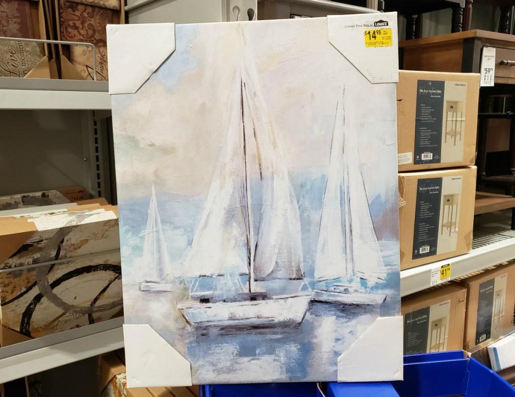Sailboats Canvas Art