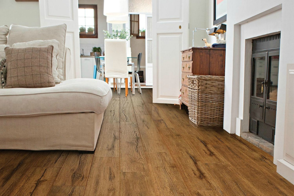 Wood For Less With Laminate Flooring, Select Surfaces Canyon Trail Laminate Flooring