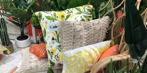 Trendy Patio Furniture, Outdoor Throw Pillows & More at Target.com (+ Stackable Savings!)