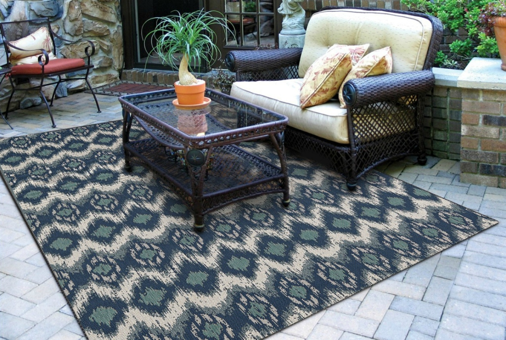 Threshold Ikat Outdoor Rug