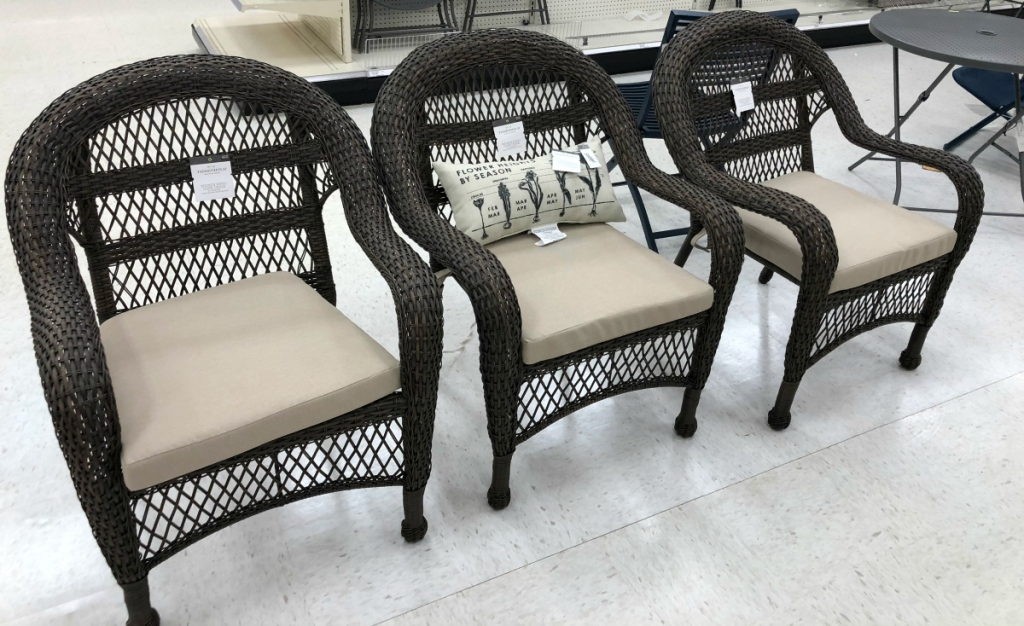 These Patio Stacking Chairs Are Only