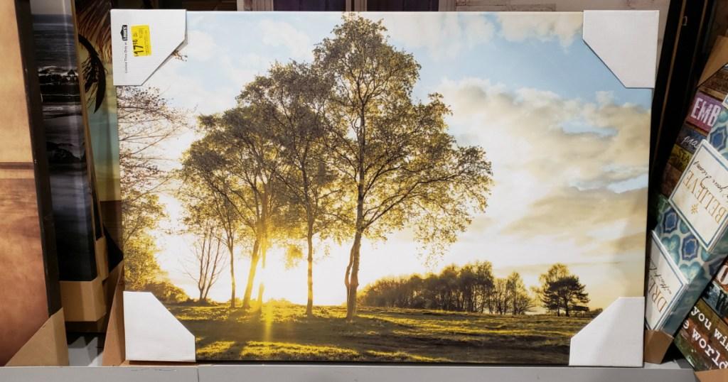 "Tree Scape 24"" x 36"" Canvas"