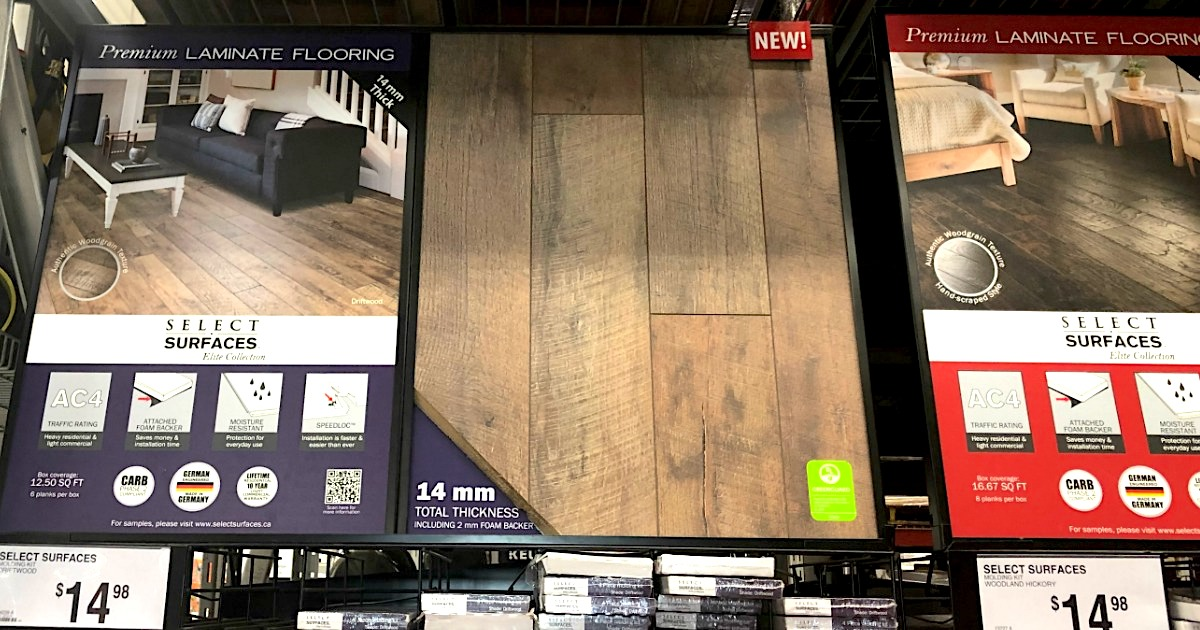 Wood For Less With Laminate Flooring, Sam's Club Select Surfaces Laminate Flooring