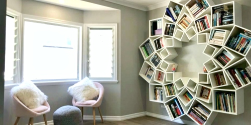 This Couple Created an Amazing DIY Bookshelf That is Beyond Pinterest-Worthy