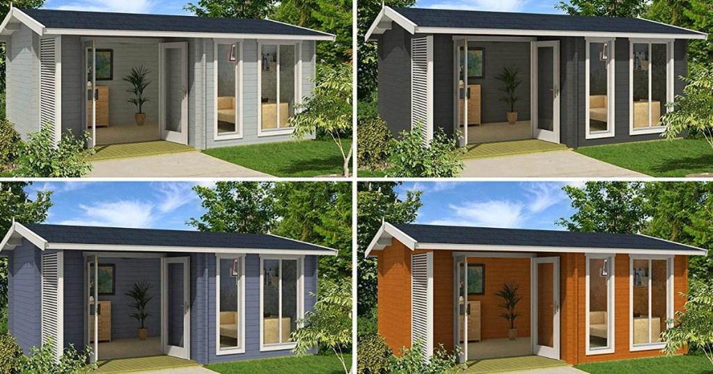 Allwood Sommersby 174 sq. ft. Garden House Kit