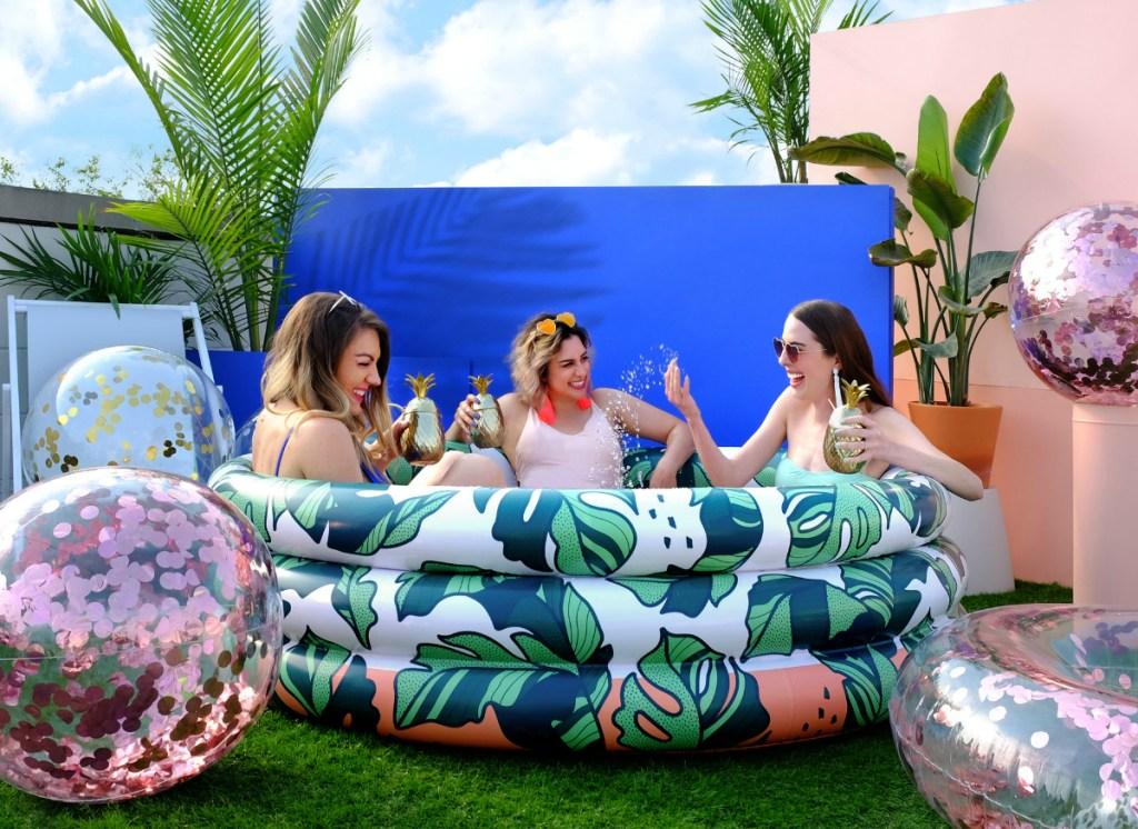 minnidip inflatable pool