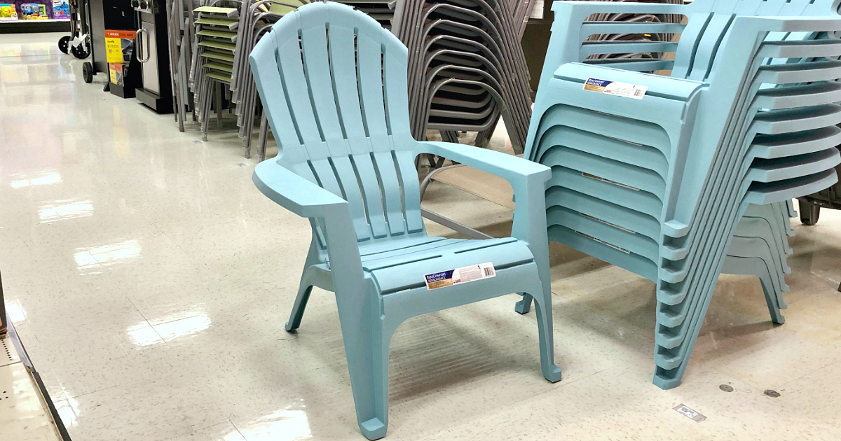 Adams RealComfort Resin Adirondack Chairs (in Blue)