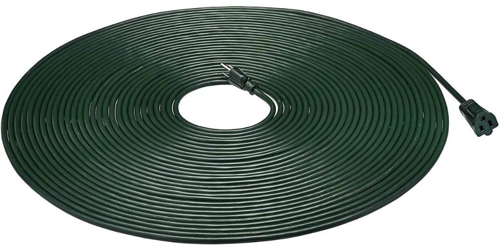 AmazonBasics Vinyl 10-Foot Outdoor Extension Cord - Green
