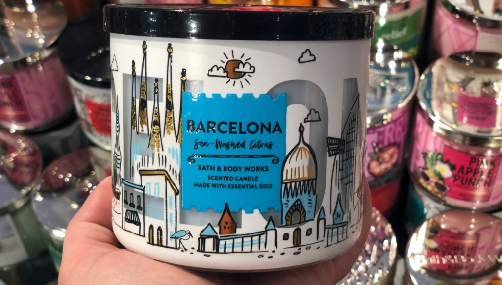 Bath & Body Works Barcelona Sun-Washed Citrus candle