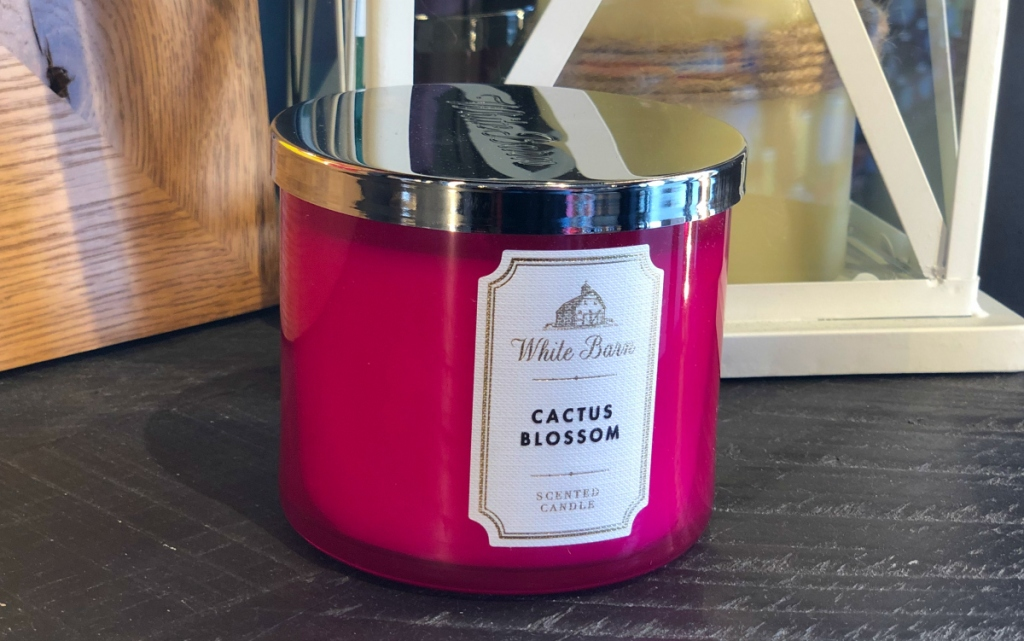 Bath & Body Works Cactus Blossom candle