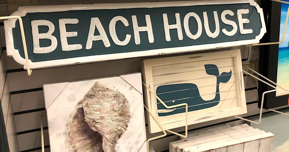 Save On Trendy Coastal Home Decor At Hobby Lobby