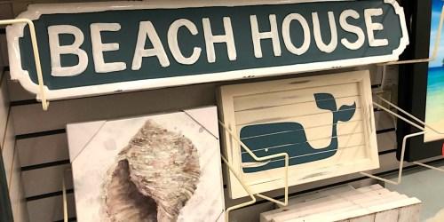 Make Your Home Feel Like a Beach House with this Coastal Decor at Hobby Lobby