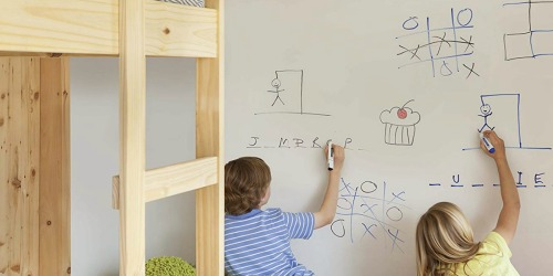 Forget a Whiteboard and Create a Dry Erase Wall Instead!