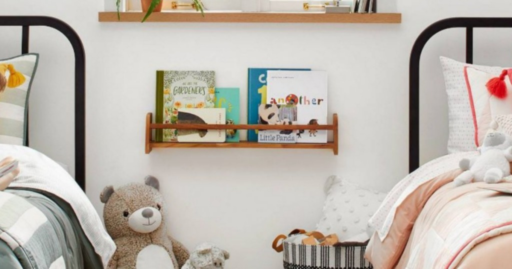 Hearth & Hand with Magnolia Wall Mounted Book Shelf