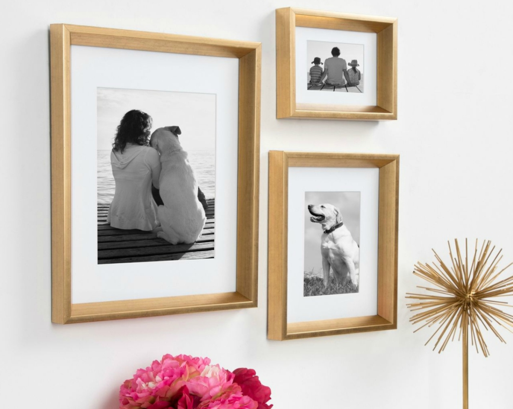 """Kate & Laurel All Things Decor 11""""x14"""" Calter Photo Frame (Set of 4)"""