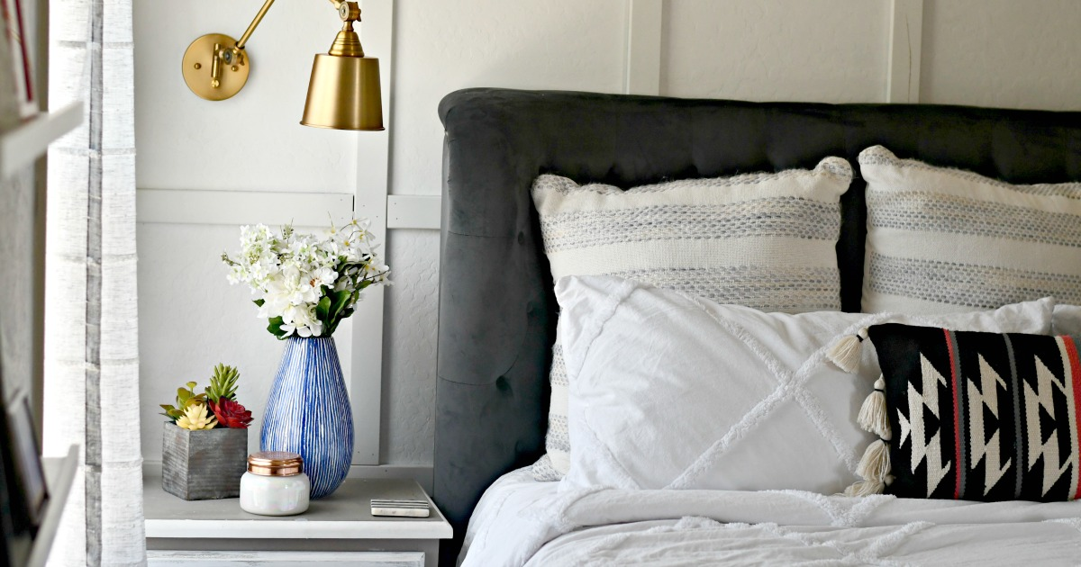 Shop Lina's Bright and Modern Bedroom Refresh