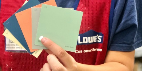 Paint Project Time! Get Up to $45 Back on Your Paint Purchase at Lowe's