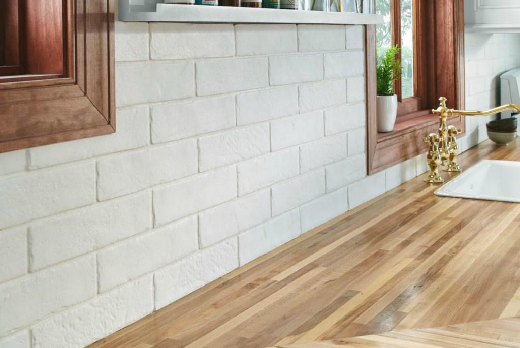 MSI Capella White Brick Glazed Porcelain Floor and Wall Tile